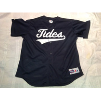 Camiseta Casaca De Baseball Softbol Americana Magestic