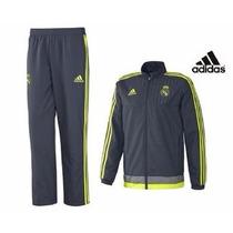 Conjunto De Salida Real Madrid De España Adidas 2016