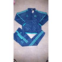 Conjunto Chelsea Adidas Uefa Champions League 100% Original