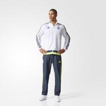 Adidas Conj Piter Real Madrid Bco/gris/a