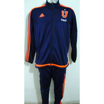 Conjunto De Entrenamiento Universidad De Chile Marca Adidas