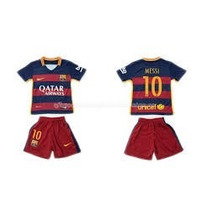 Kit Niños Barcelona Titular Messi Camiseta+short 2015 2016