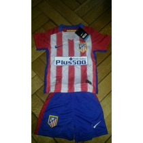 Kit Camiseta + Short Atlético De Madrid Niño