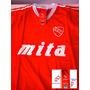 Camiseta Niño Retro Oficial Independiente Bochini T6 Falugan