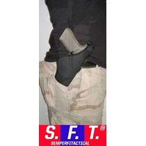 Pistolera Desenfunde Rapido Uso Civil Lado Zurdo - Sft®
