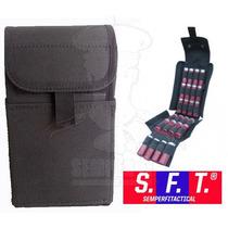 Porta Cartuchos Escopeta Negro Molle De Semper Fi Tactical®