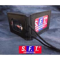 Porta Placa Y Credencial De Cuero De Semper Fi Tactical®
