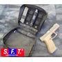 Bolso Multiuso Molle Negro De Semper Fi Tactical®.