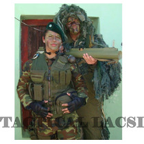 Chaleco Tactico Un Frente 1/4 Molle De Tactical Lacsi