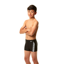 Malla Short Speedo Natacion Infantil Monogram Boxer