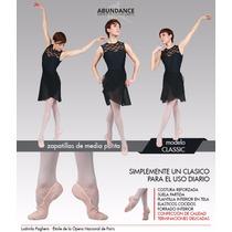 Zapatillas De Media Punta Badanas Danza Classic Abundance