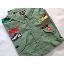 Camisa Pesca Xxl Usa Dago Secado Rápido Manga Larga