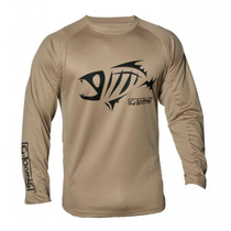 Remera Gloomis Compass Ls Tee Color Sand Talle X X X L