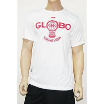 Remera Huracan Drout Globo Tbs Blanca 2016