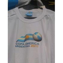 Remera Fútbol Copa América Argentina