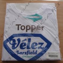 Remera Dama Topper Velez Supercampeón 2013 Nuevas M