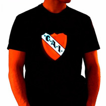 Remera C/luces Led Club A. Independiente Activa Con Sonido