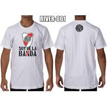 Remeras River Plate 16 Diseños Alternativos Calidad Premium