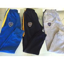 Pantalon Chupin Boca Juniors Importados Algodon Oferta Unica