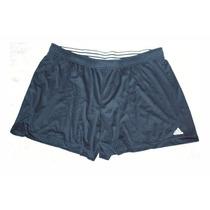 Short Pantalón Corto Fútbol Adidas Negro Hombre Talla Xl