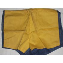 Pantalon De Boca Años 70 Mitad Azul Y Amarillo Talle48