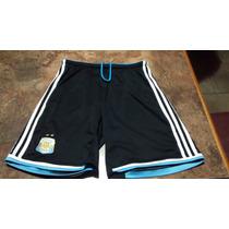 Pantalon Corto Seleccion Argentina Talle M