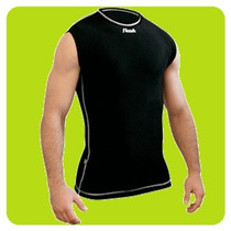 Remera Termica Flash Sin Manga Camiseta Spandex Compresion