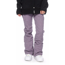 Pantalon Snowboard Mujer Aperture Crystal Purple 10k Talle S