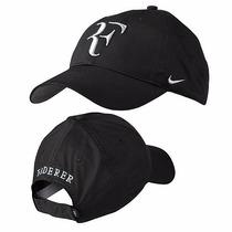 Gorra Nike Federer Rf Logo 2016 Color Negro (el Mas Buscado)