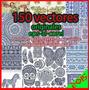 Vectores 150 Vectores Originales Eps-ai-cdr Telas Remerasetc
