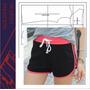 Molde Industrial Short Deportivo Mujer Running Gym Imprimibl