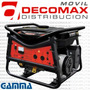 Grupo Electrógeno Gamma 3500v Monofasico 7hp Nafta 4t 47kg