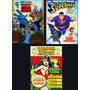 Lote X 3 Revistas Superheroe Batman Mujer Maravilla Superman