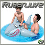Tiburon Flotador Inflable Bote Pileta Chicos Juego Animal