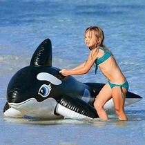 Ballena Orca Inflable Gigate, Marca Intex