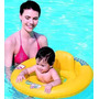 Salvavidas Asiento Doble Anillo Inflable Bestway 32027