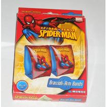 Bracitos Flotadores Spiderman Lic Oficial V. Crespo