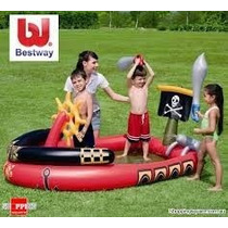 Inflables Pileta Pirate Play Pool 53041bestway