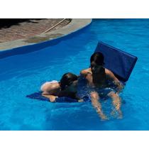 Colchoneta De Agua Para Pileta Nataclor Slim No Inflable!!