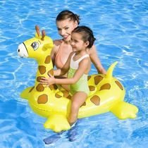 Flotador Para Piletas Inflable Jirafa Para Niños Bestway