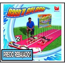 Pista Deslizable Raceway 2 Carriles Bestway 488cm Inflable