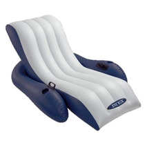 Colchoneta Intex Sillon Inflable Reposera Reclinada Pileta