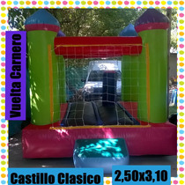 Castillo Inflable Con Garantia + Turbina Forte