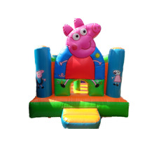 Inflable Peppa Pig 3x5 Con Tobogan 12 Cuotas Sin Interes!!!!