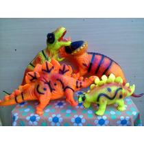 Dinosaurios De Goma Gigantes Atoxicos