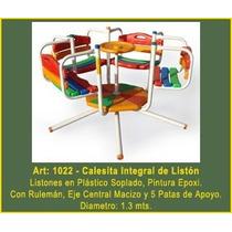 Juegos Plaza Jardin Airel Calesita Integral De Liston Mf1022