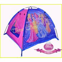 Casita Carpa Pelotero Infantil Princesa Disney Original Niña