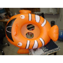 Bote Inflable Bebe Nemo Barrilete Animal