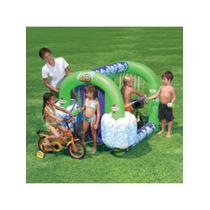Juego Inflable Bestway Lavadero De Autos Y Bicicletas Niños