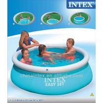 Pileta Inflable Intex Nuevo Modelo 183x51 Cm + Pelota Regalo